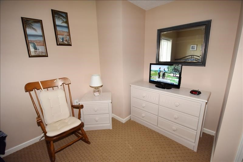 Double Queen Bedroom TV