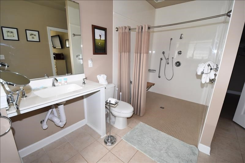Handicap Shower Master Bathroom